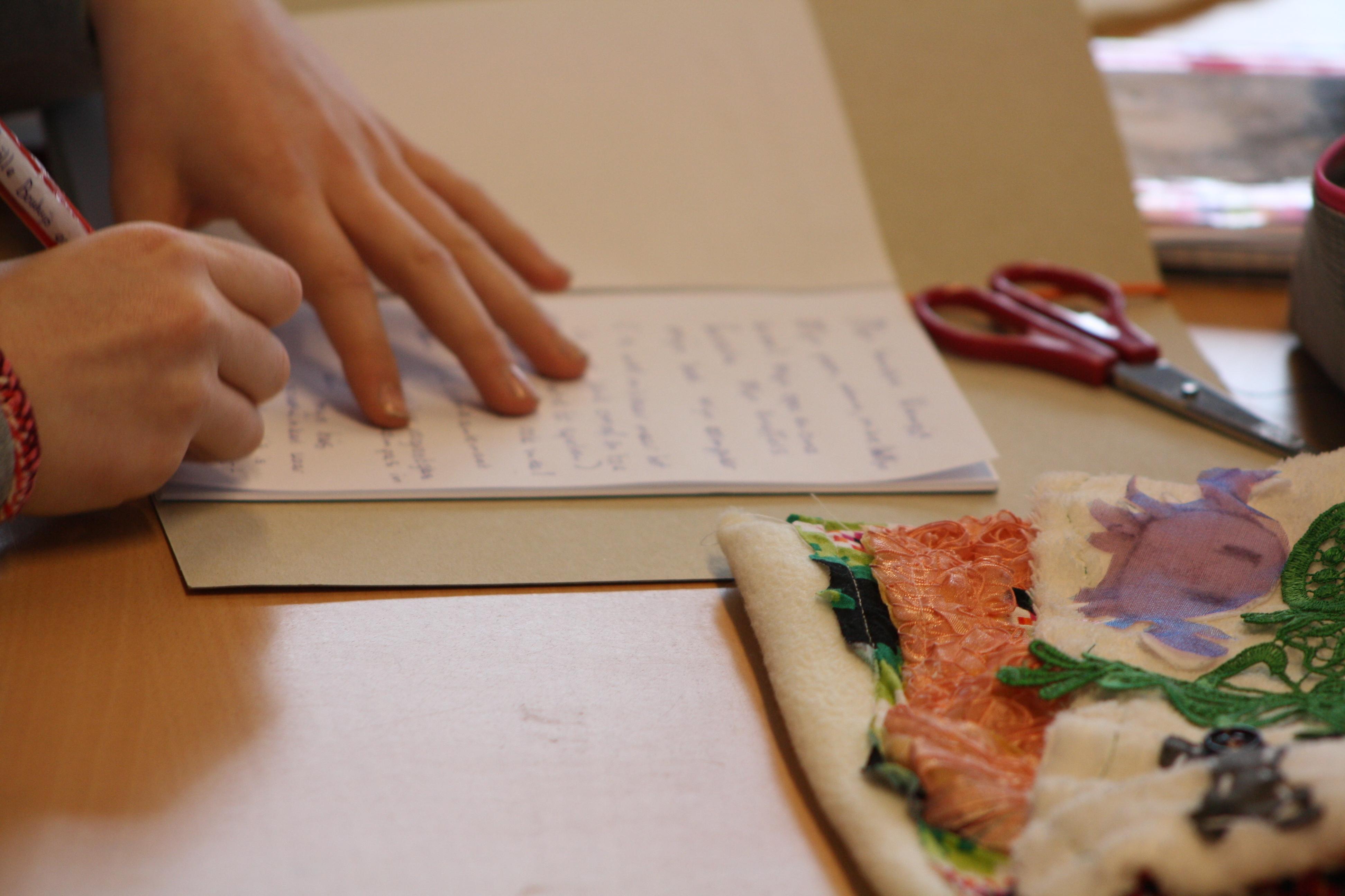 Uitzonderlijk SEP | Creatief schrijven - SEP kunst en cultuur in het onderwijs #AN03